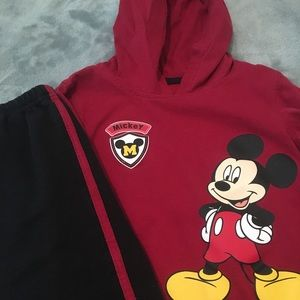 Disney's Mickey Mouse Sweat Suit - Toddler Boy